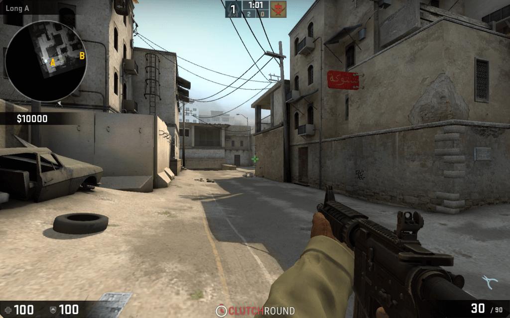 CS:GO 16:10 de_dust2