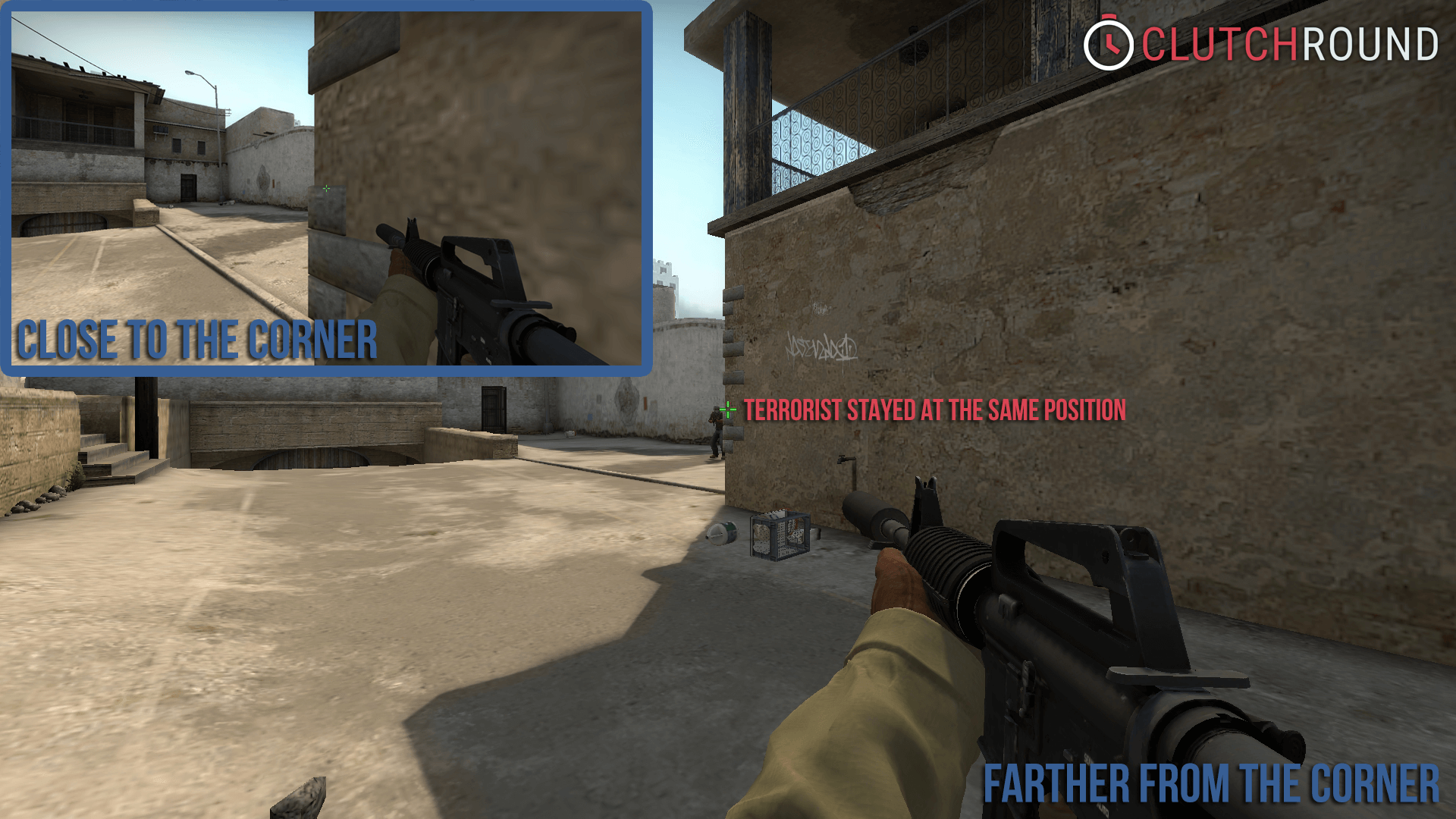 Csgo Corners And Angles Clutchroundcom