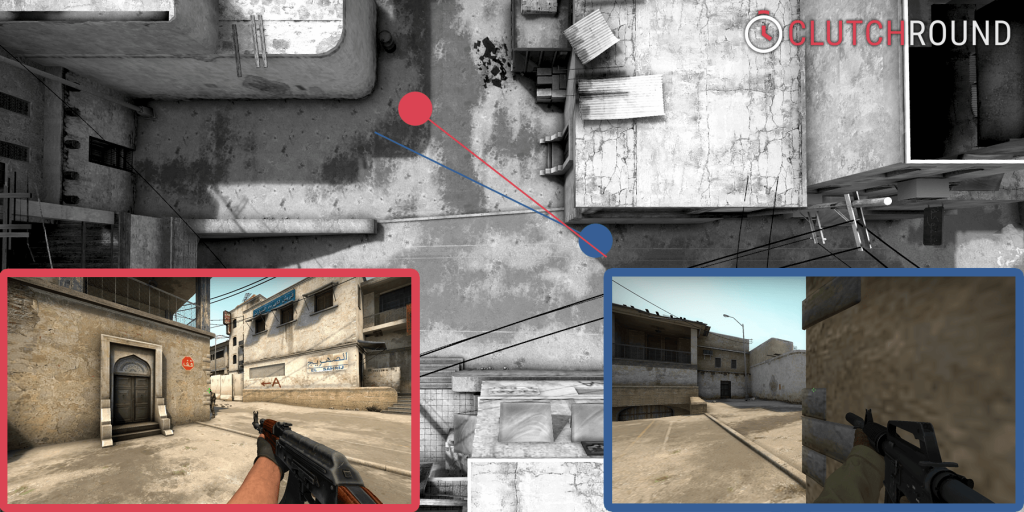 csgo corners and angles dust2 disadvantage