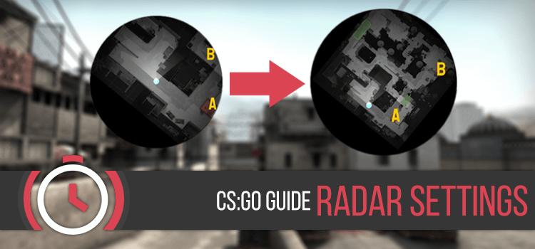 Как в кс го сделать радар с обозначениями