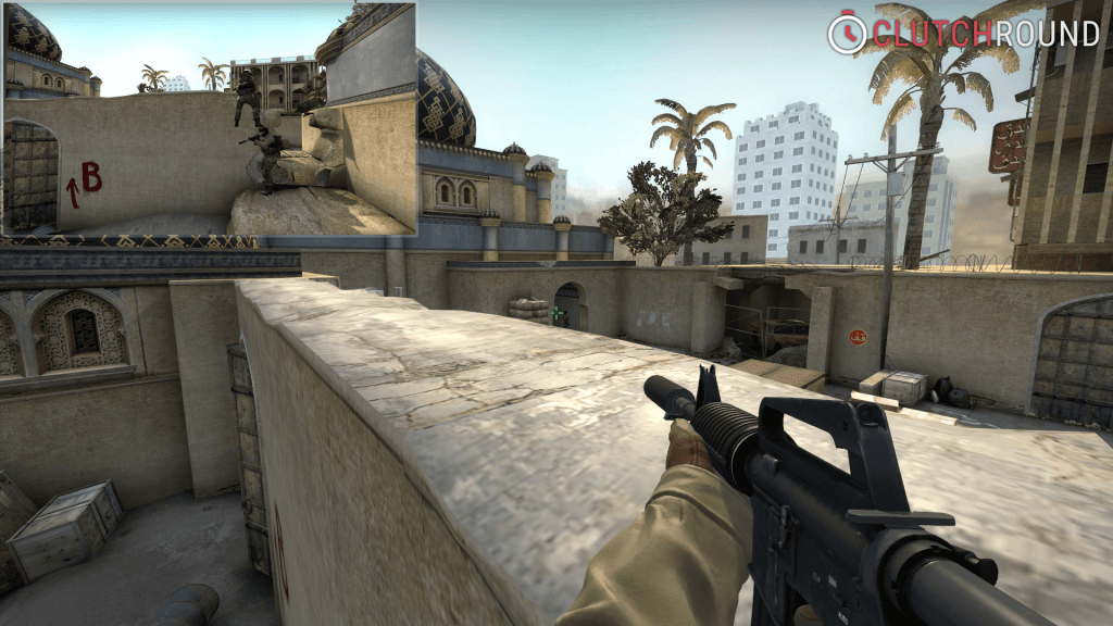 cs go boost tower de_dust2 b window