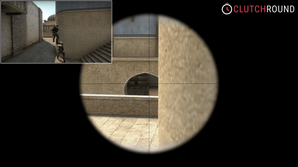 cs go boost tower de_dust2 catwalk to tunnels