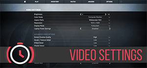 CS:GO Guide Video Settings