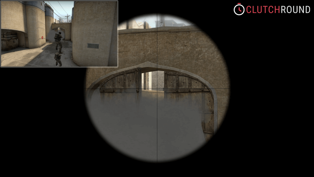 cs go boost tower de_dust2 CT mid