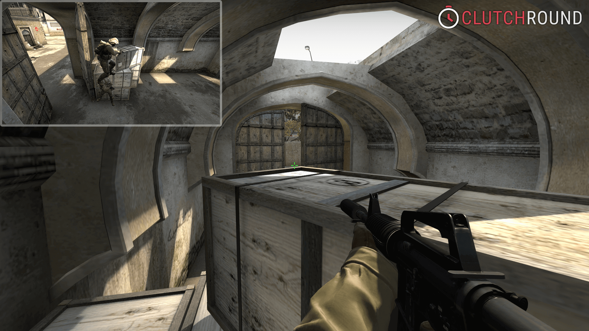 CS:GO - Map Mastery: de_dust2 - clutchround.com on